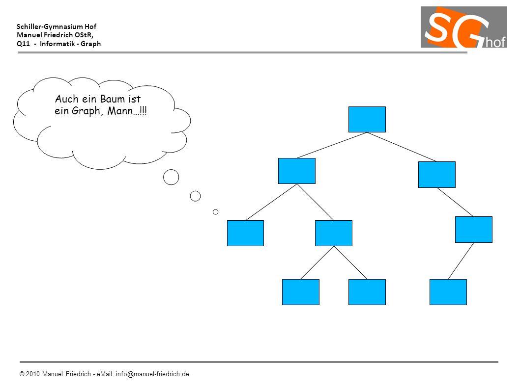 Auch ein Baum ist ein Graph, Mann…!!! Schiller-Gymnasium Hof