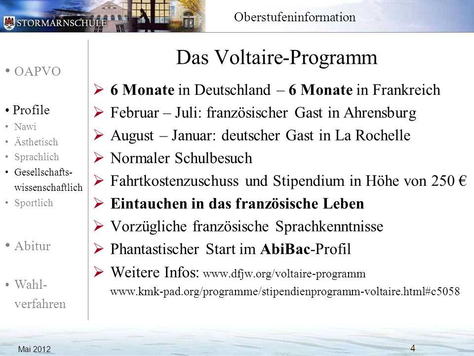 Das Voltaire-Programm