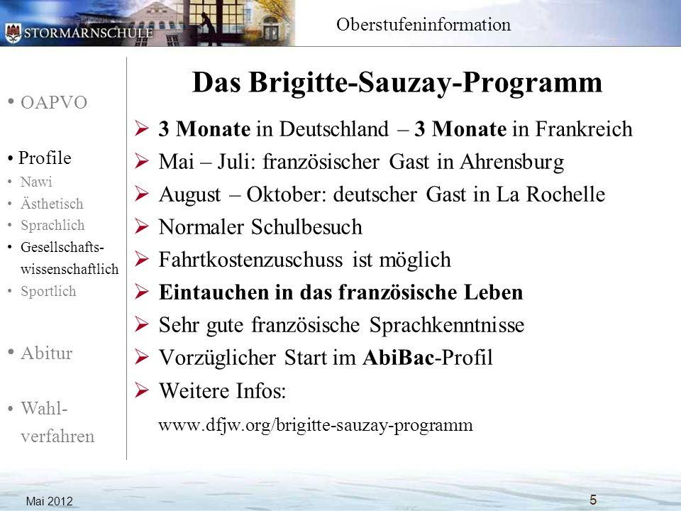 Das Brigitte-Sauzay-Programm