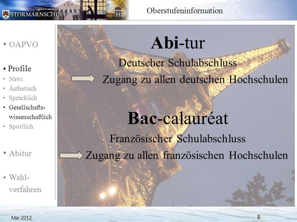 Abi-tur Bac-calauréat Deutscher Schulabschluss