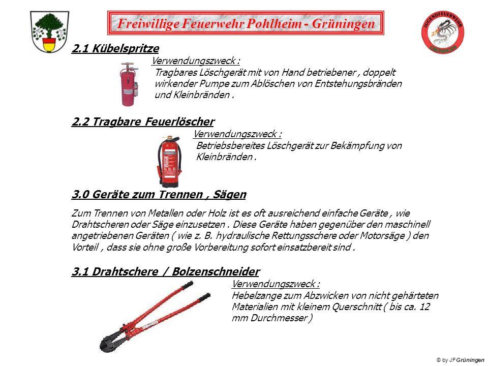2.2 Tragbare Feuerlöscher