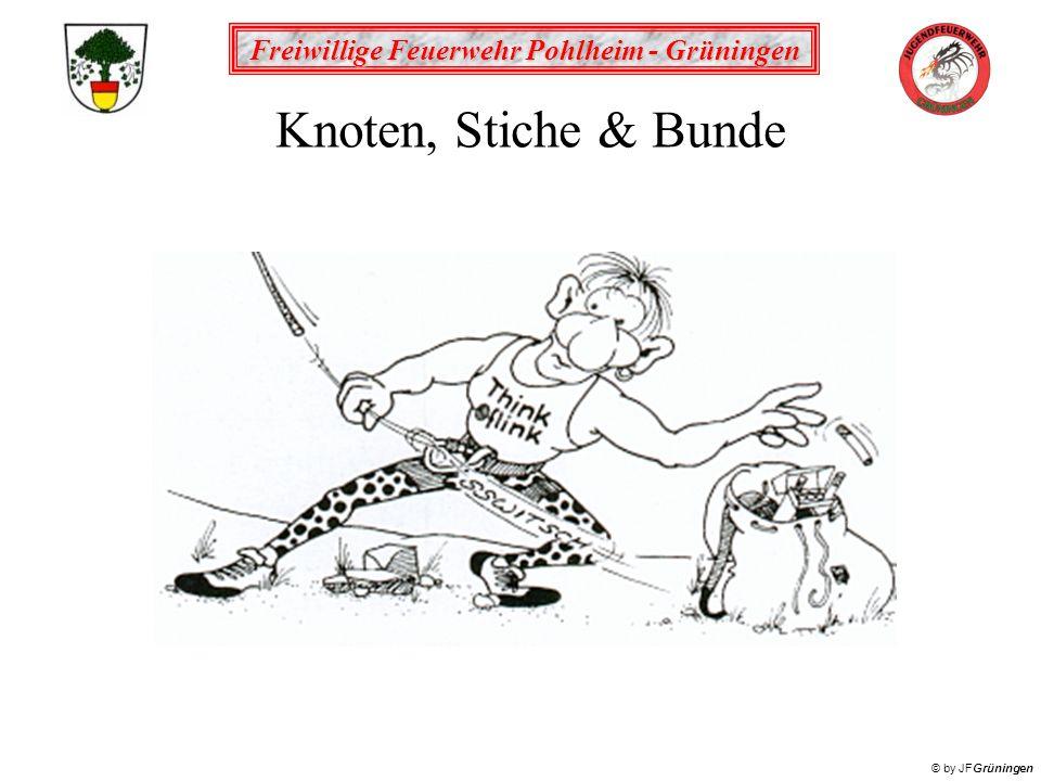 Knoten, Stiche & Bunde
