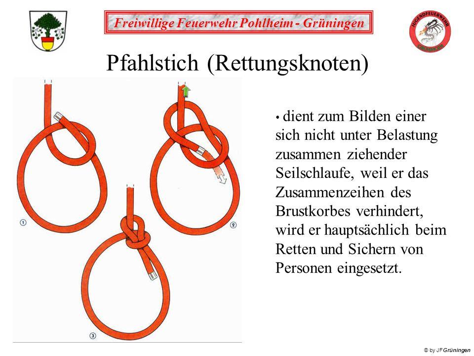 Pfahlstich (Rettungsknoten)