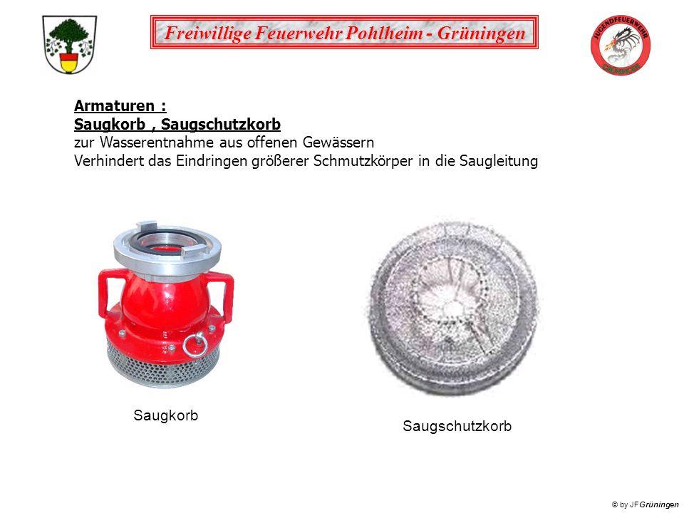 Armaturen : Saugkorb , Saugschutzkorb. zur Wasserentnahme aus offenen Gewässern.