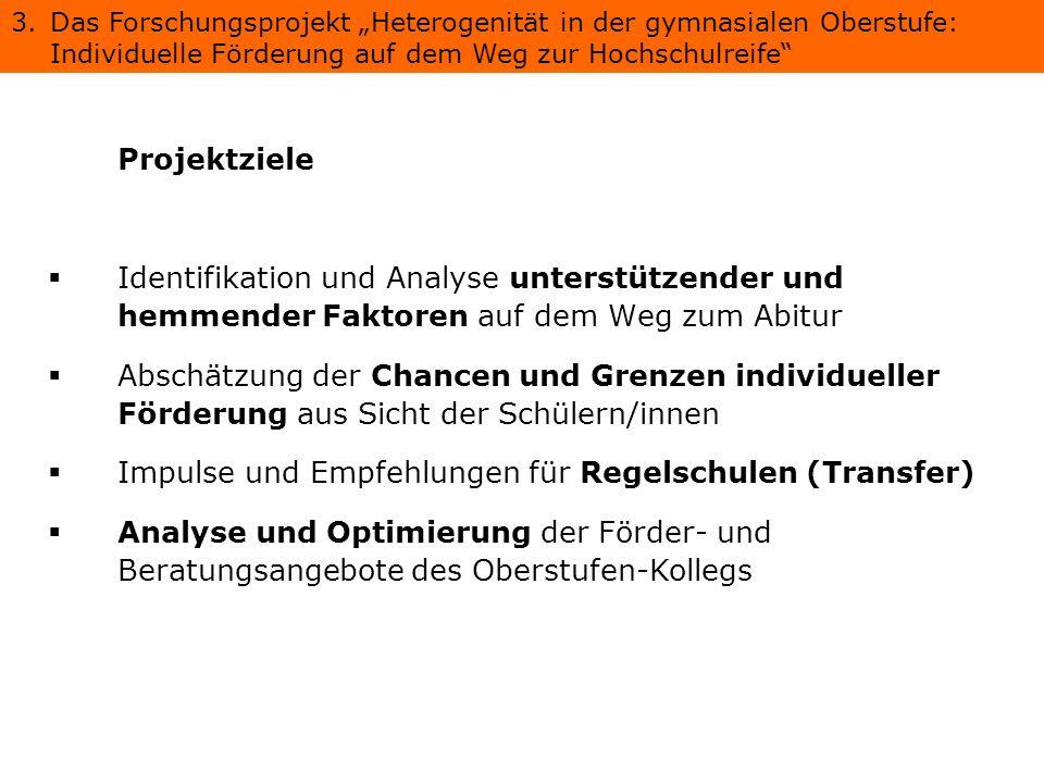 Impulse und Empfehlungen für Regelschulen (Transfer)