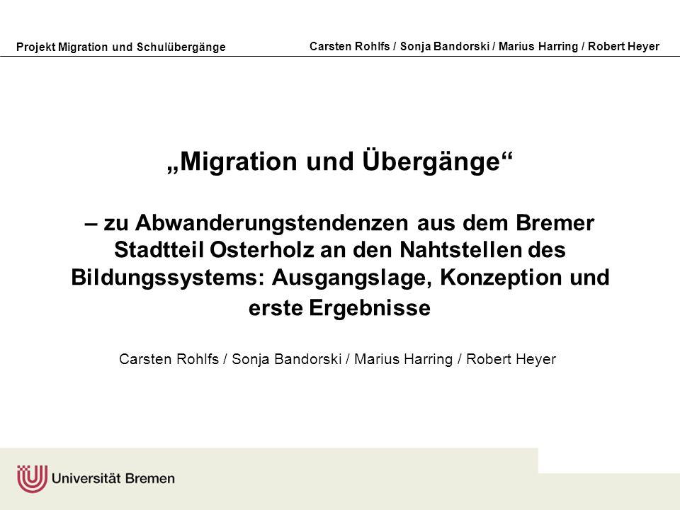 Carsten Rohlfs / Sonja Bandorski / Marius Harring / Robert Heyer