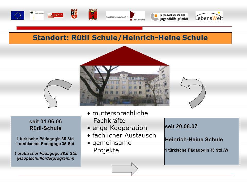 Standort: Rütli Schule/Heinrich-Heine Schule