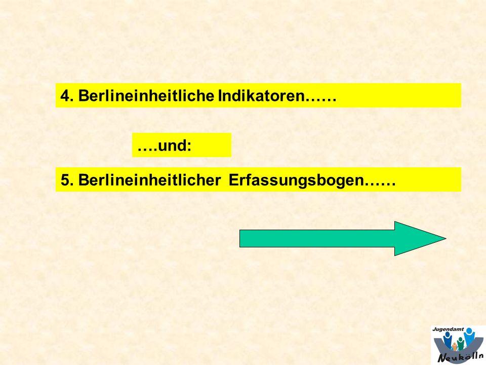 4. Berlineinheitliche Indikatoren……
