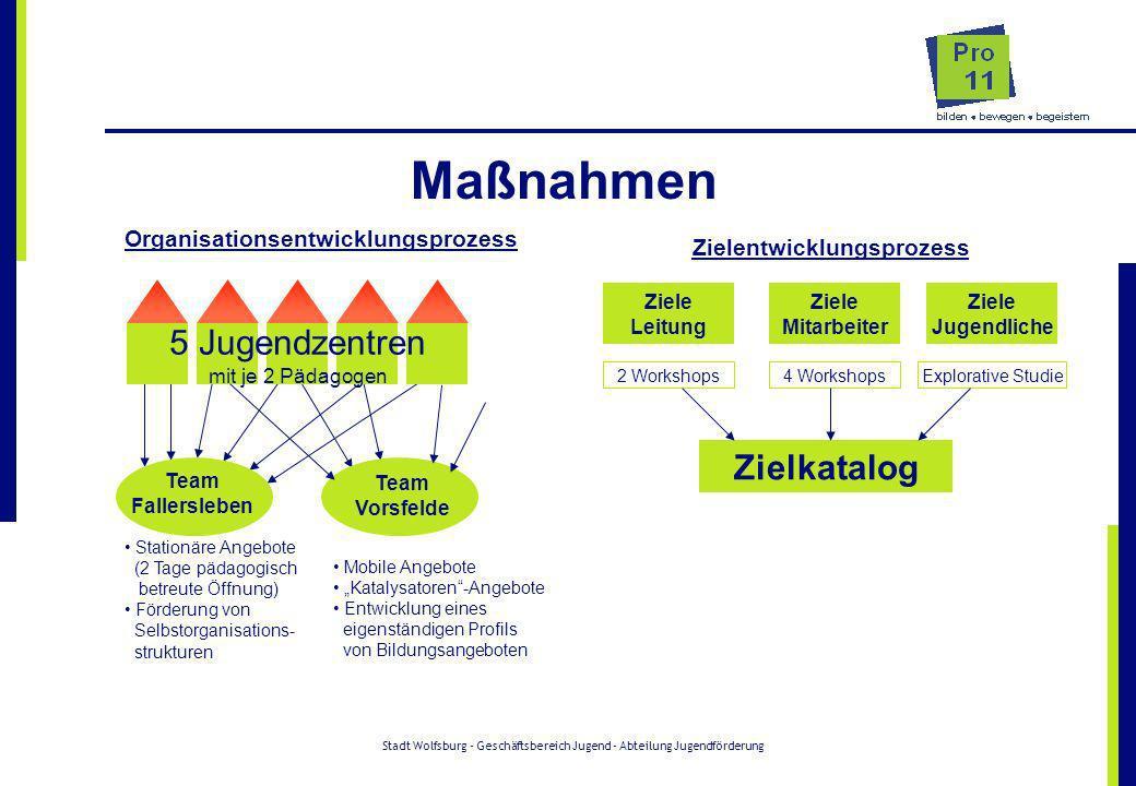 Organisationsentwicklungsprozess Zielentwicklungsprozess
