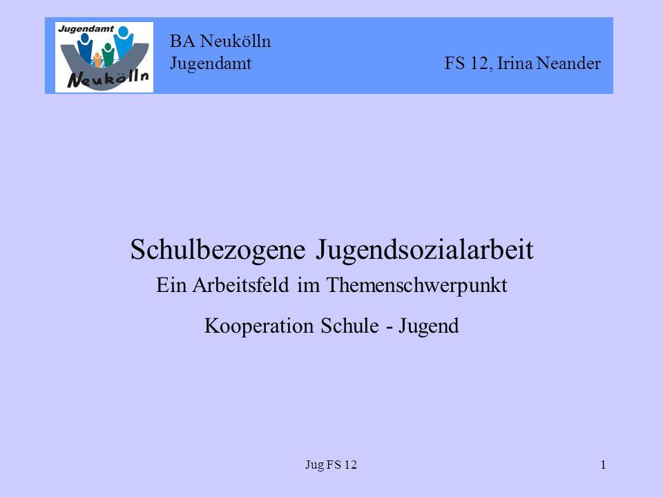 BA Neukölln Jugendamt FS 12, Irina Neander