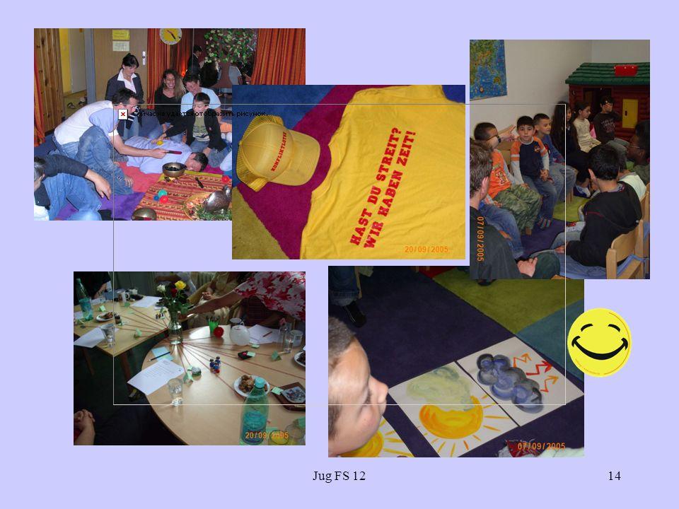 Jug FS 12 Ausstellung der AWO: I love Schulstation...