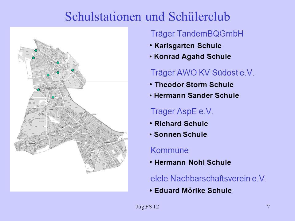 Schulstationen und Schülerclub