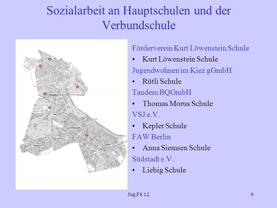 Sozialarbeit an Hauptschulen und der Verbundschule