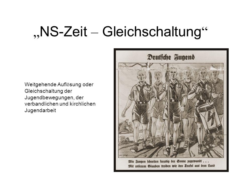 """""""NS-Zeit – Gleichschaltung"""