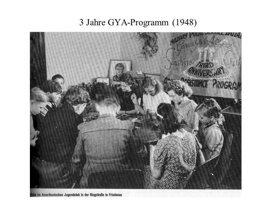 3 Jahre GYA-Programm (1948)