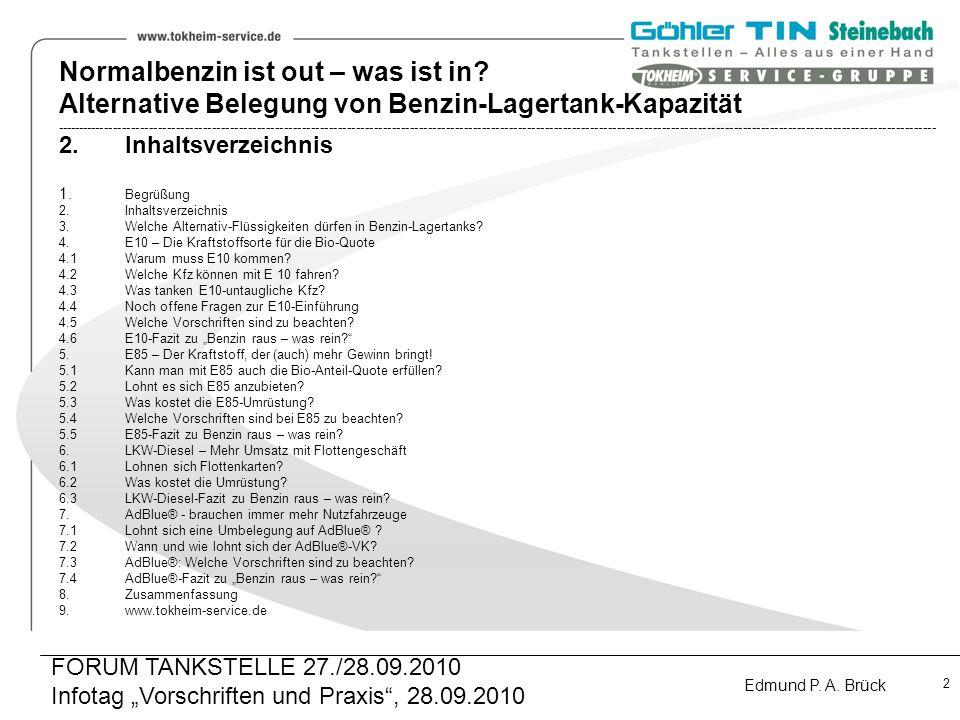 """Infotag """"Vorschriften und Praxis , 28.09.2010"""