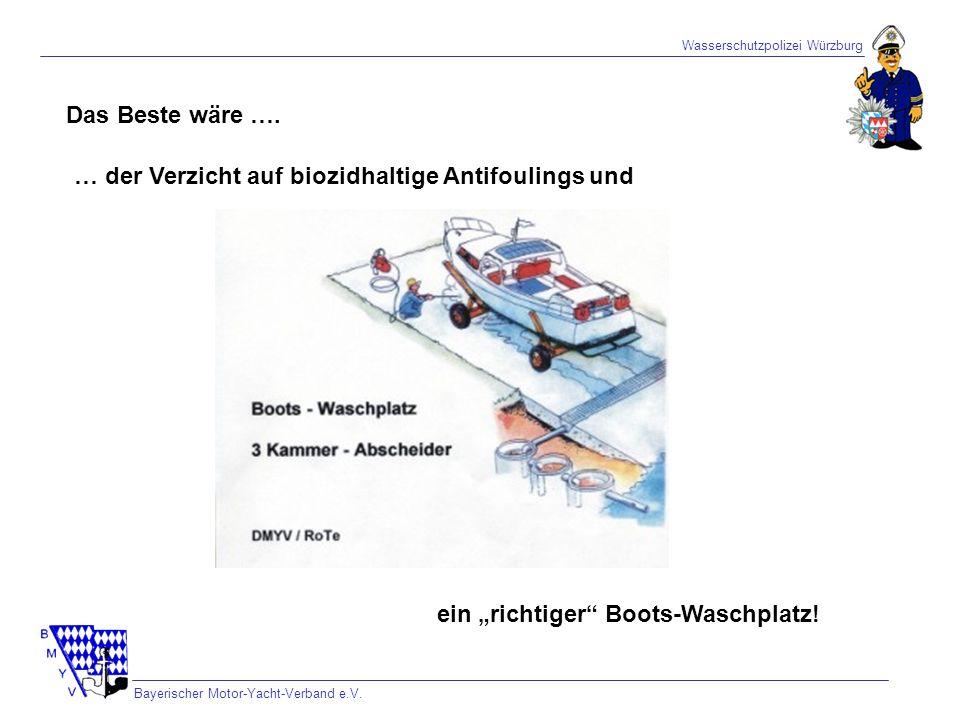 … der Verzicht auf biozidhaltige Antifoulings und