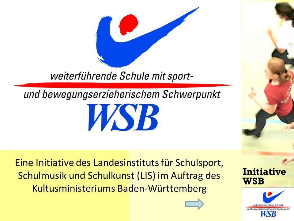 Eine Initiative des Landesinstituts für Schulsport, Schulmusik und Schulkunst (LIS) im Auftrag des Kultusministeriums Baden-Württemberg