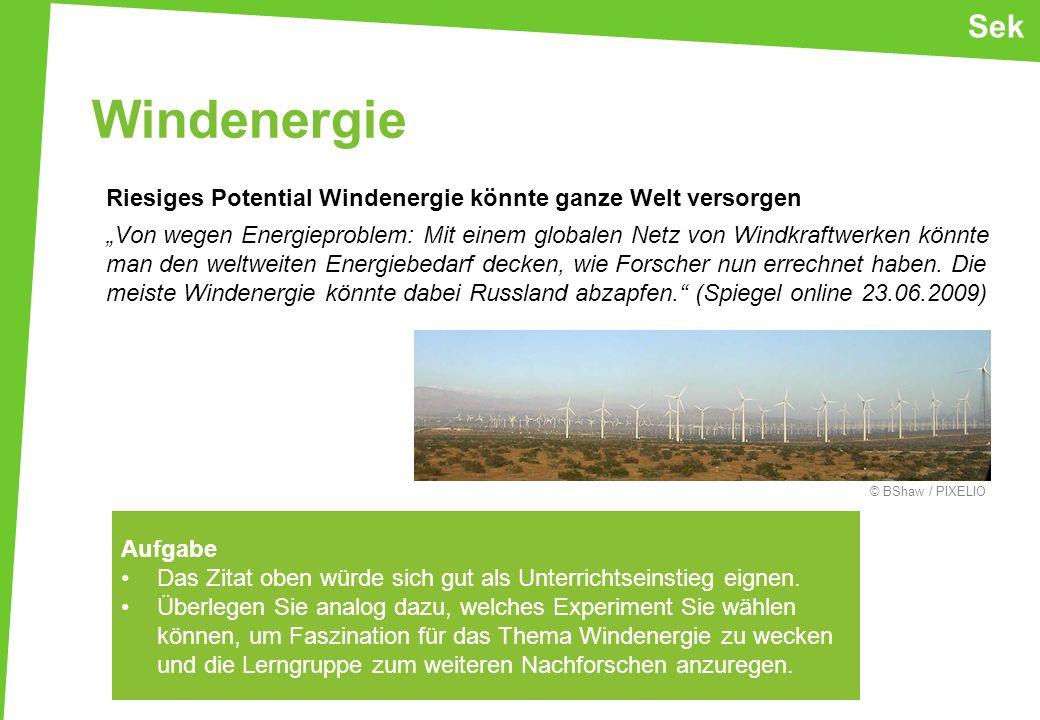 Sek Windenergie.