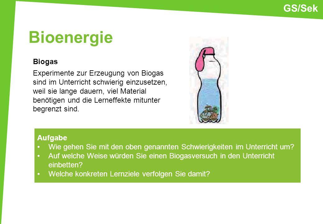 GS/Sek Bioenergie.