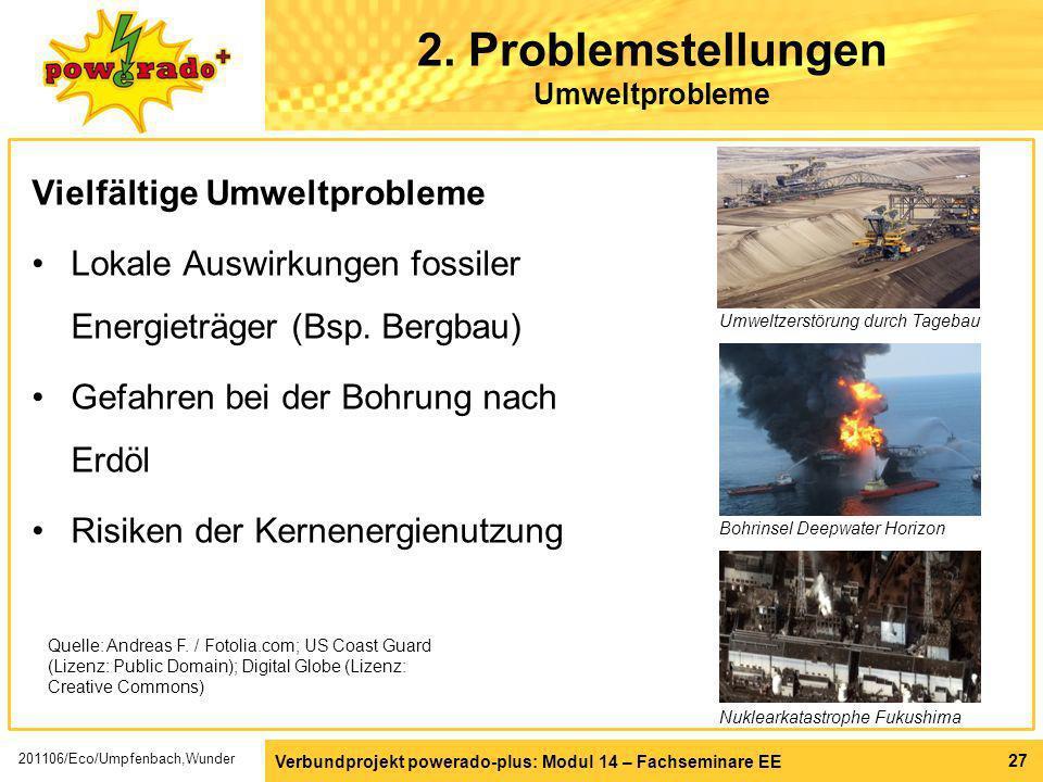 2. Problemstellungen Umweltprobleme