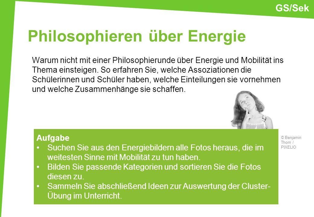 Philosophieren über Energie