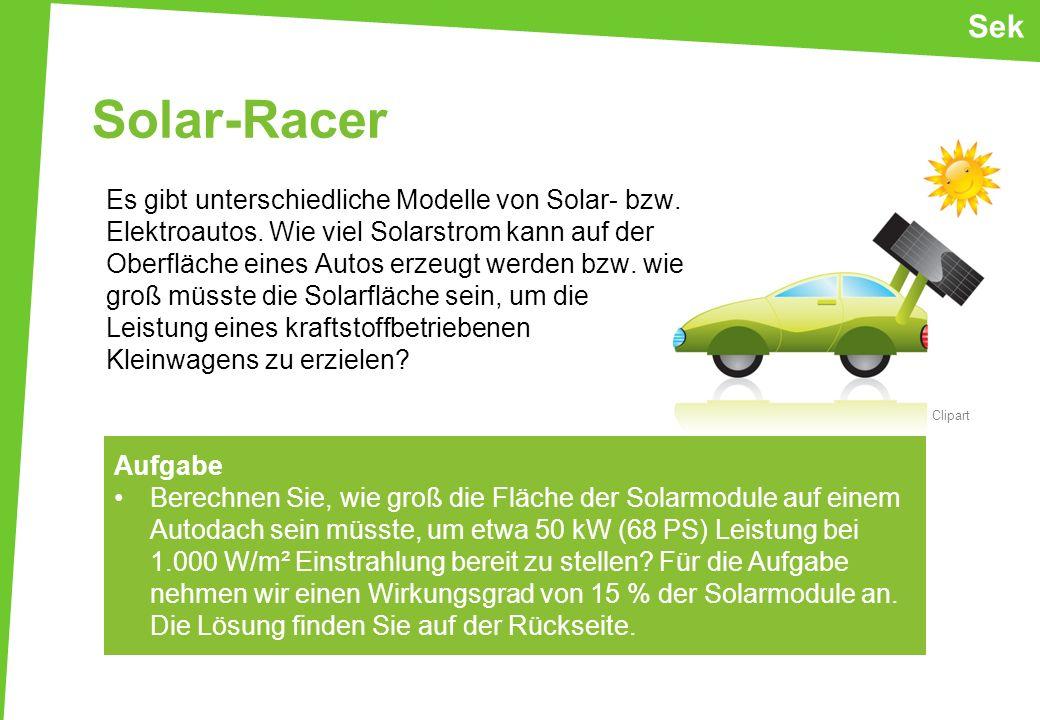 Sek Solar-Racer.