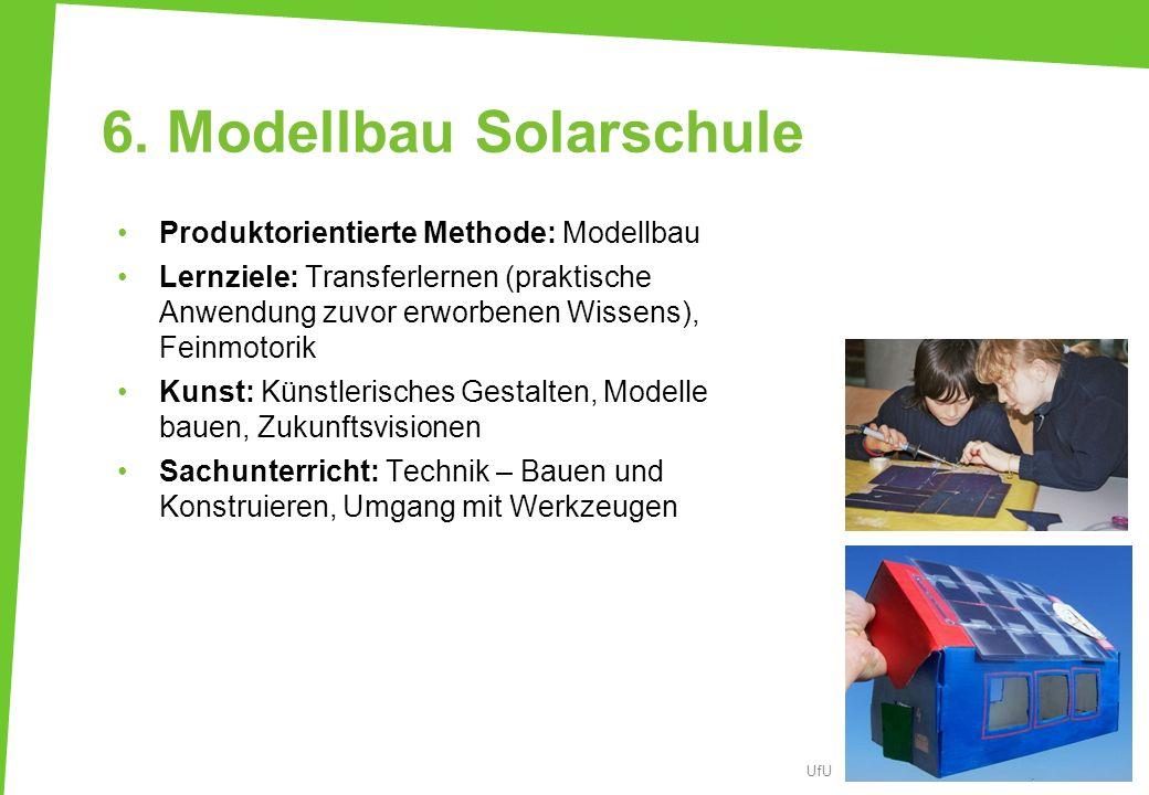 6. Modellbau Solarschule