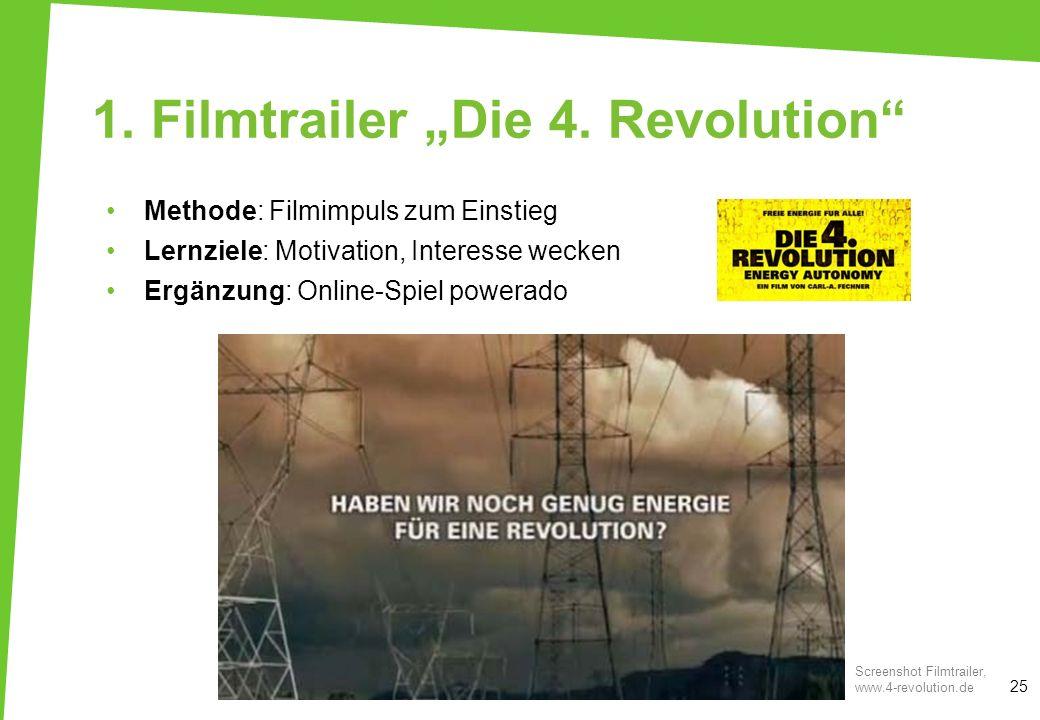 """1. Filmtrailer """"Die 4. Revolution"""