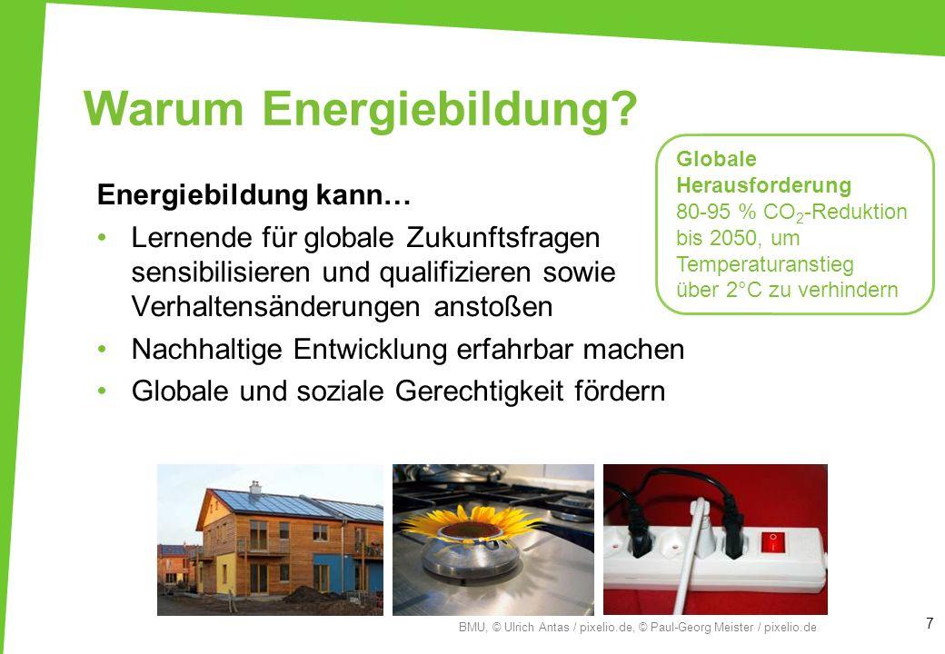 Warum Energiebildung Energiebildung kann…