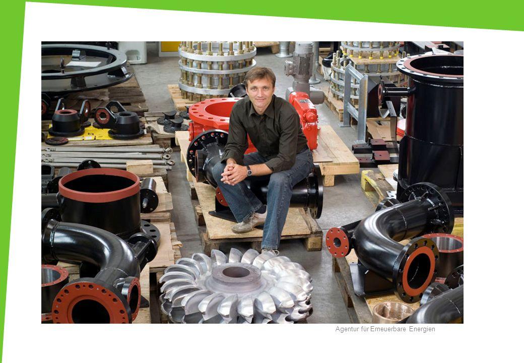 Metallbauer/in Mechaniker/in Agentur für Erneuerbare Energien