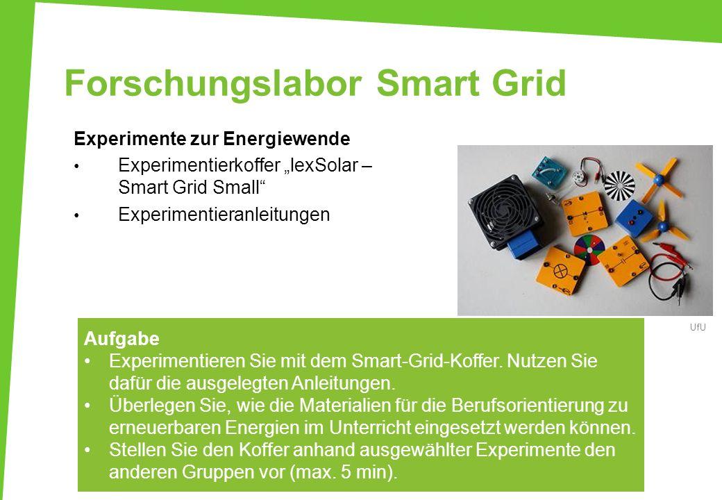 Forschungslabor Smart Grid