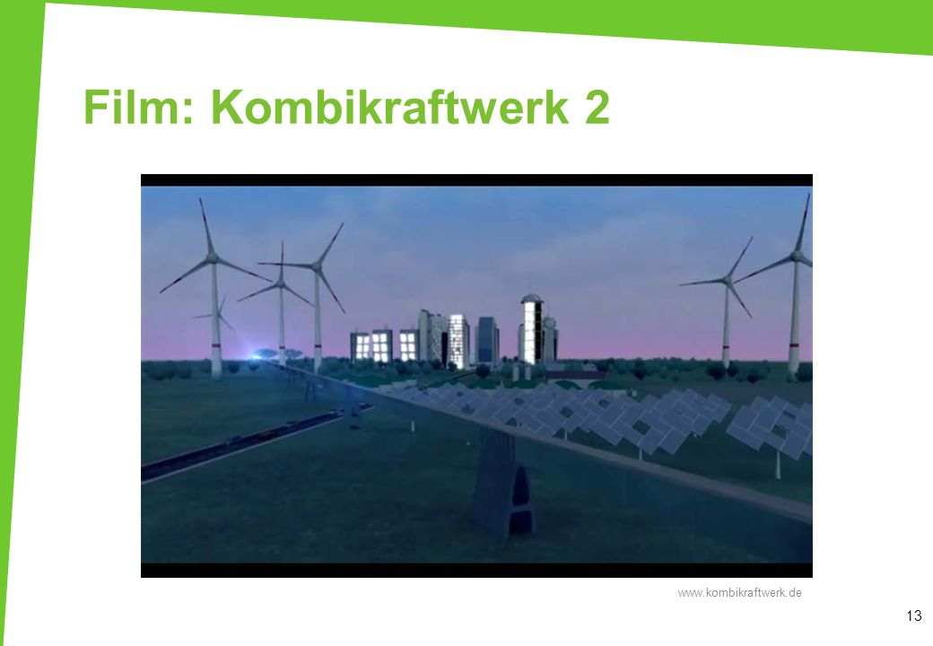 Film: Kombikraftwerk 2