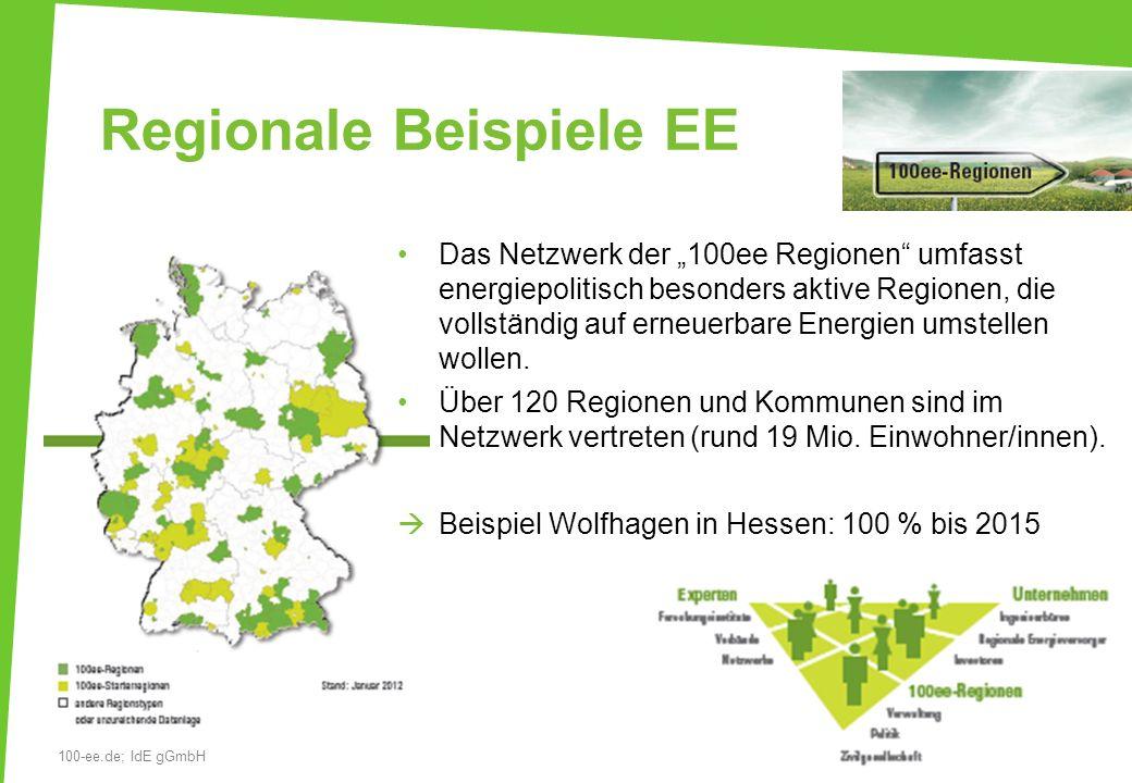 Regionale Beispiele EE