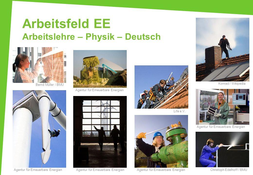 Arbeitsfeld EE Arbeitslehre – Physik – Deutsch