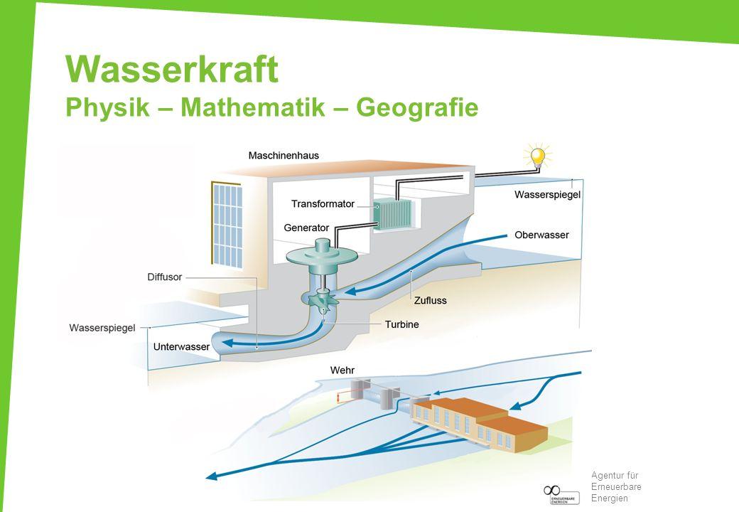 Wasserkraft Physik – Mathematik – Geografie