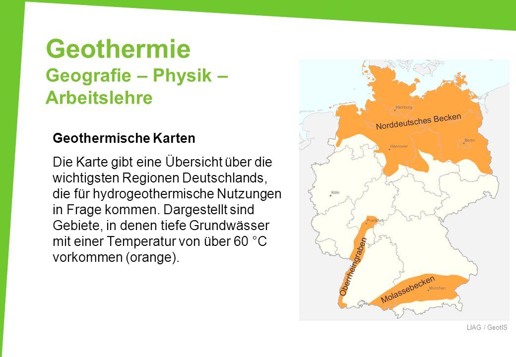 Geothermie Geografie – Physik – Arbeitslehre
