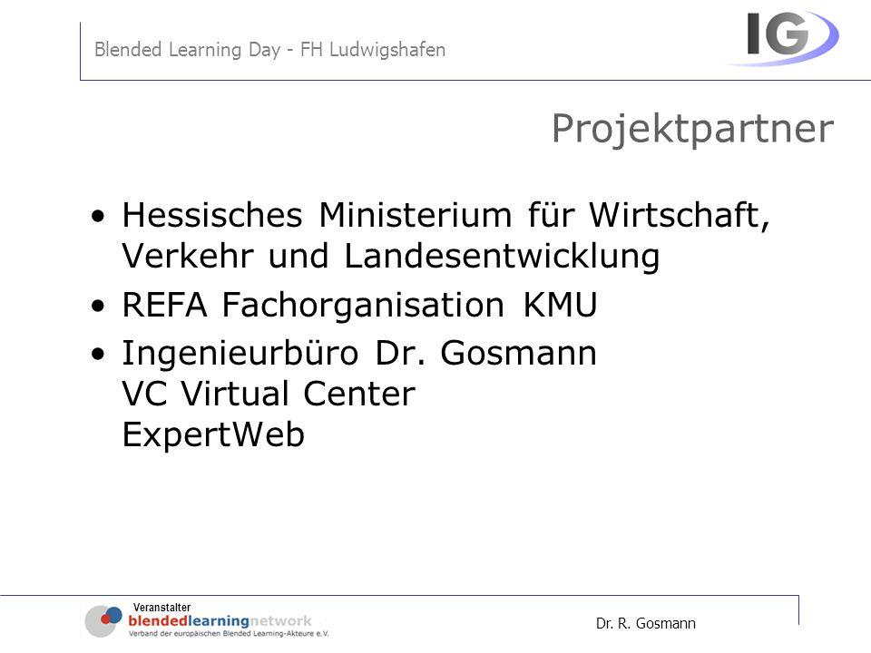 Projektpartner Hessisches Ministerium für Wirtschaft, Verkehr und Landesentwicklung. REFA Fachorganisation KMU.