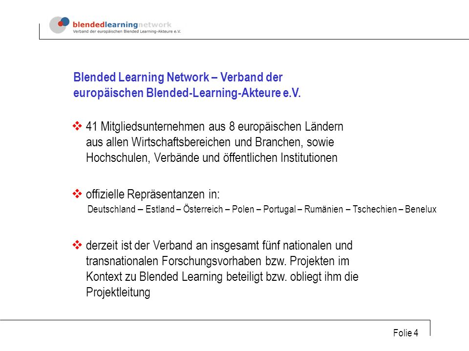 Blended Learning Network – Verband der europäischen Blended-Learning-Akteure e.V.