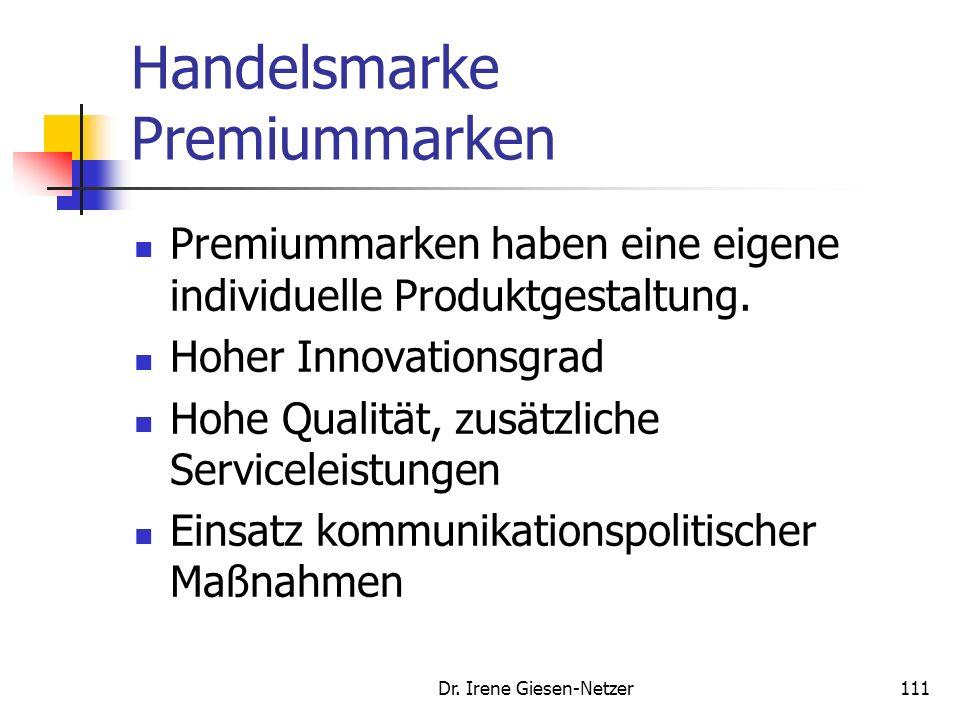 Handelsmarke Premiummarken