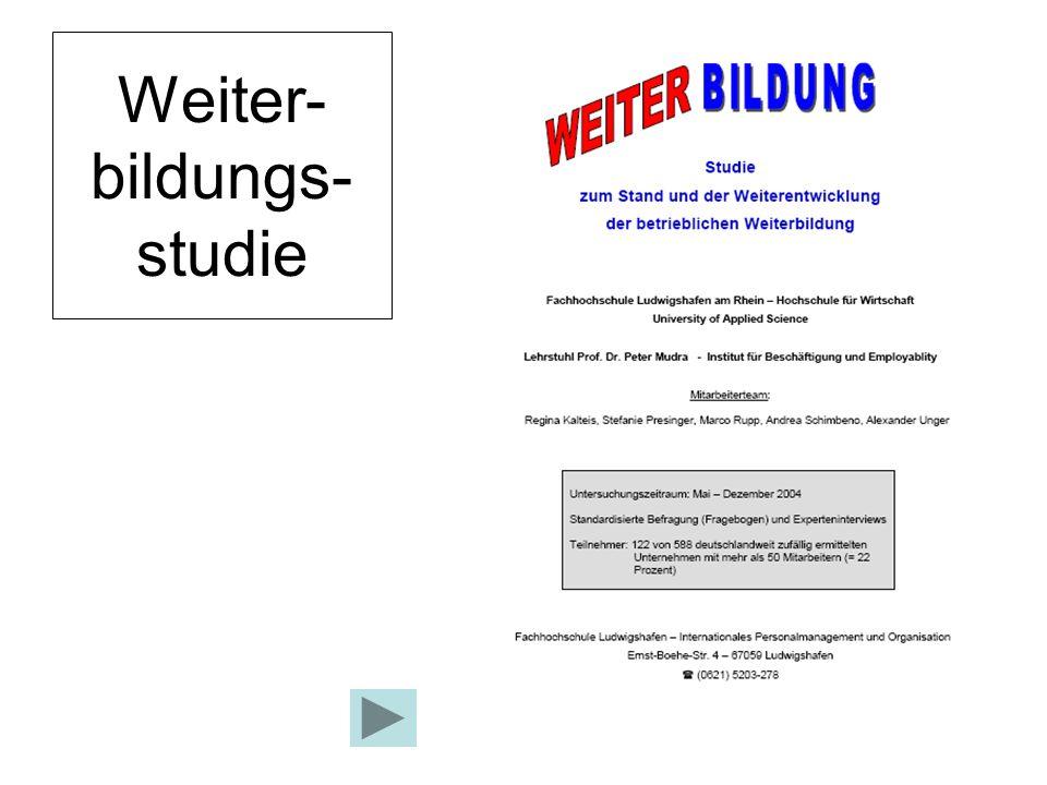 Weiter-bildungs-studie