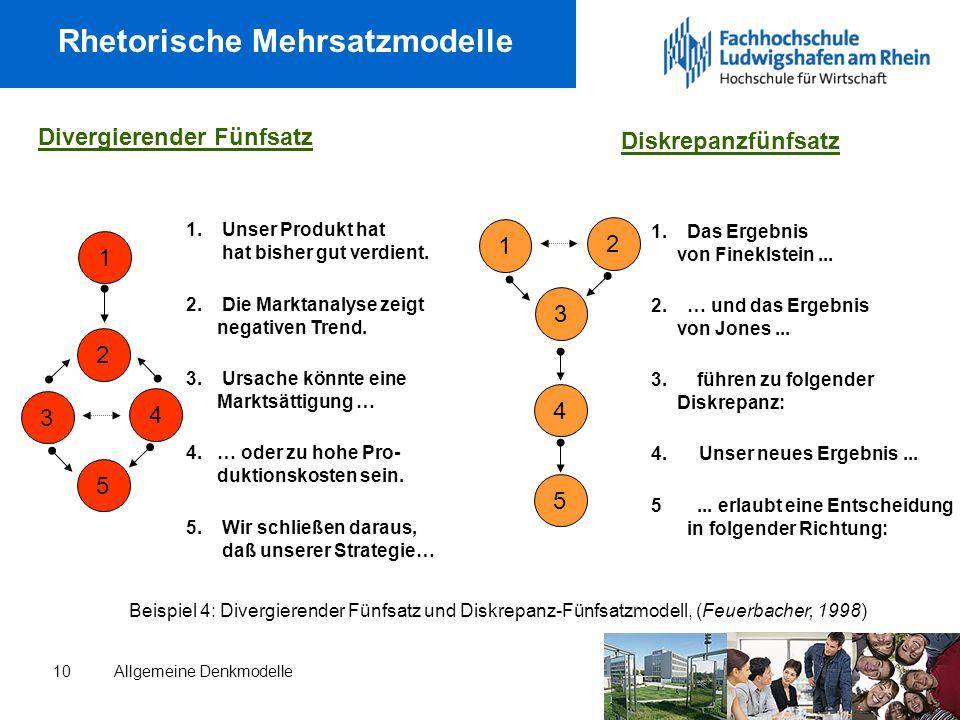 Rhetorische Mehrsatzmodelle