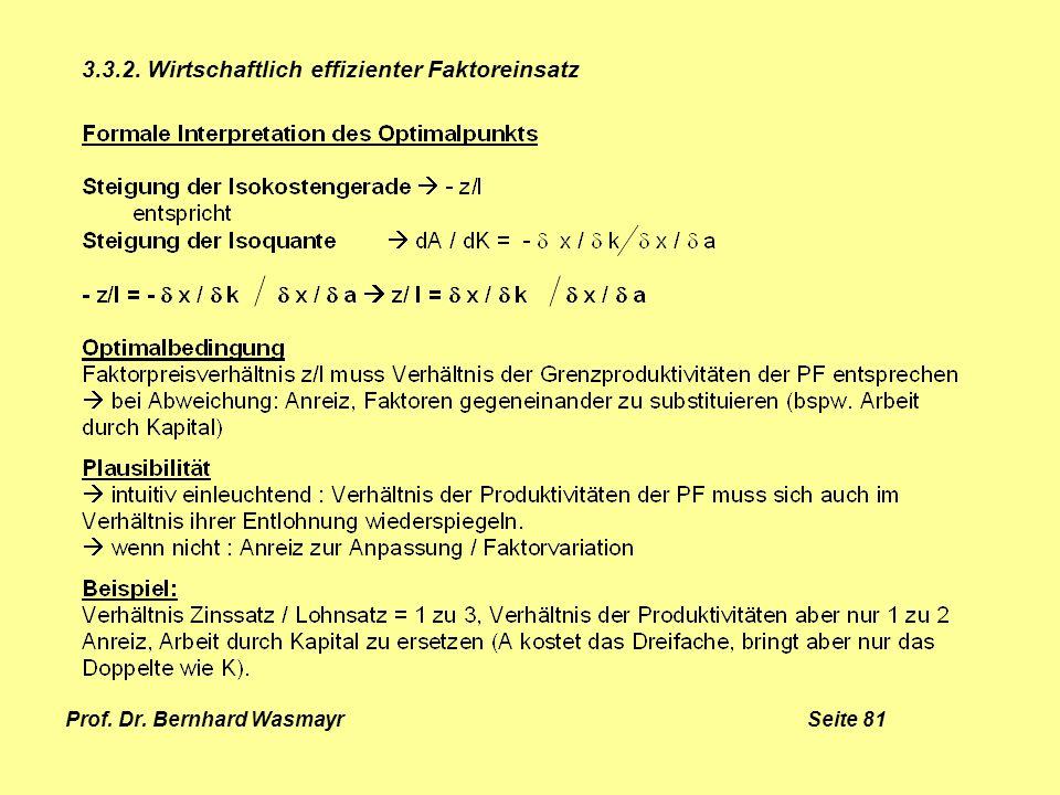 Prof. Dr. Bernhard Wasmayr Seite 81