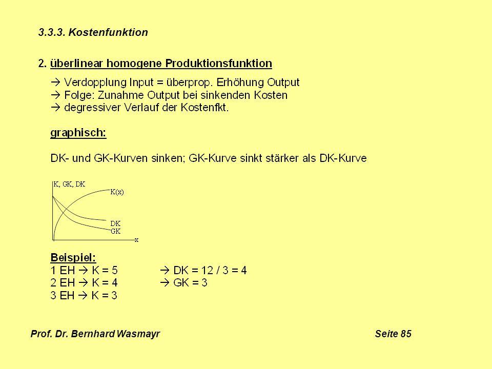 Prof. Dr. Bernhard Wasmayr Seite 85