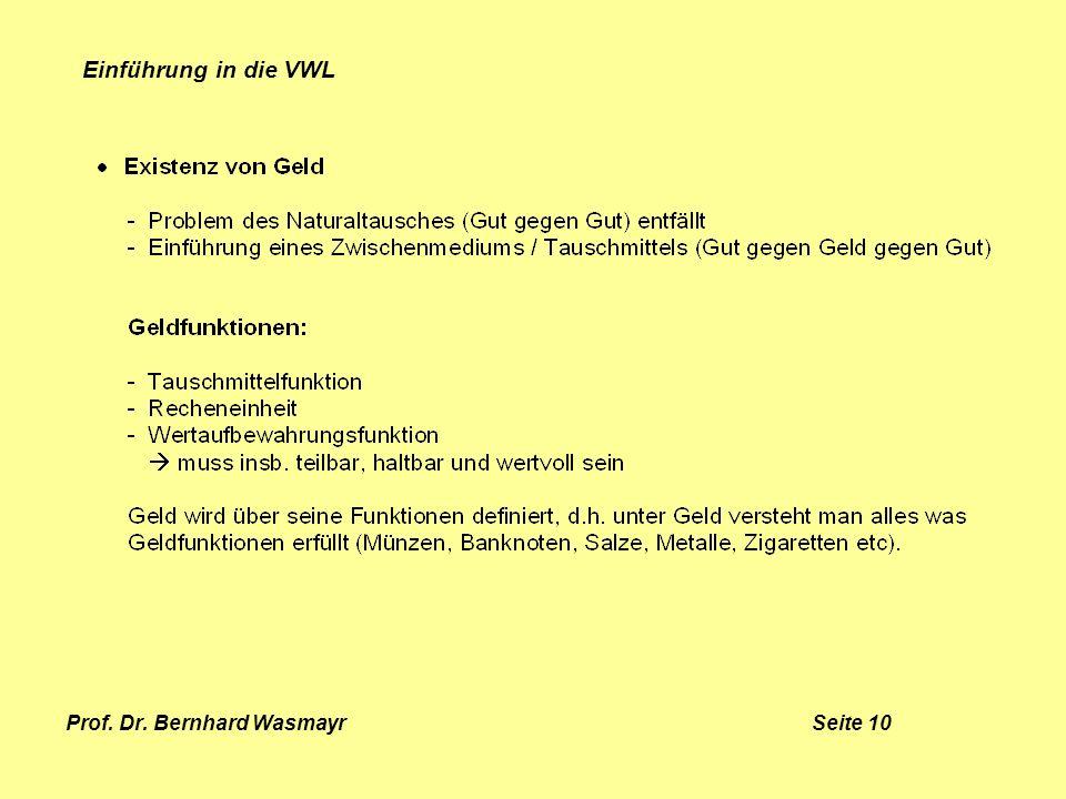 Prof. Dr. Bernhard Wasmayr Seite 10