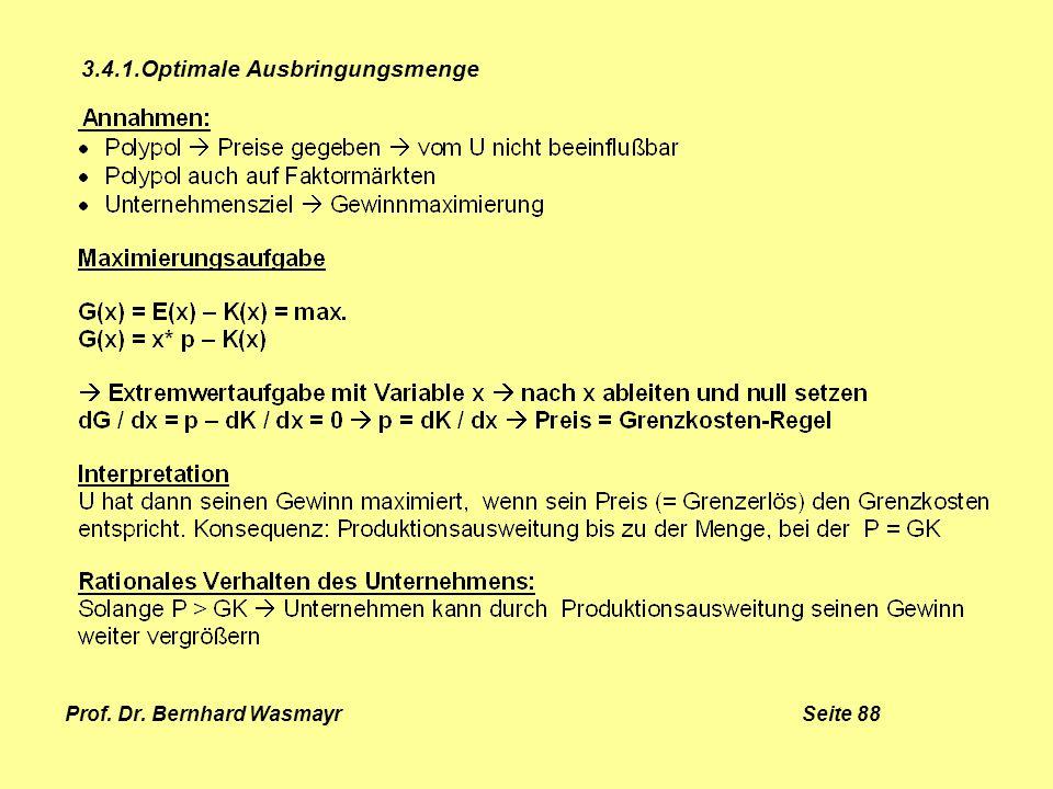 Prof. Dr. Bernhard Wasmayr Seite 88
