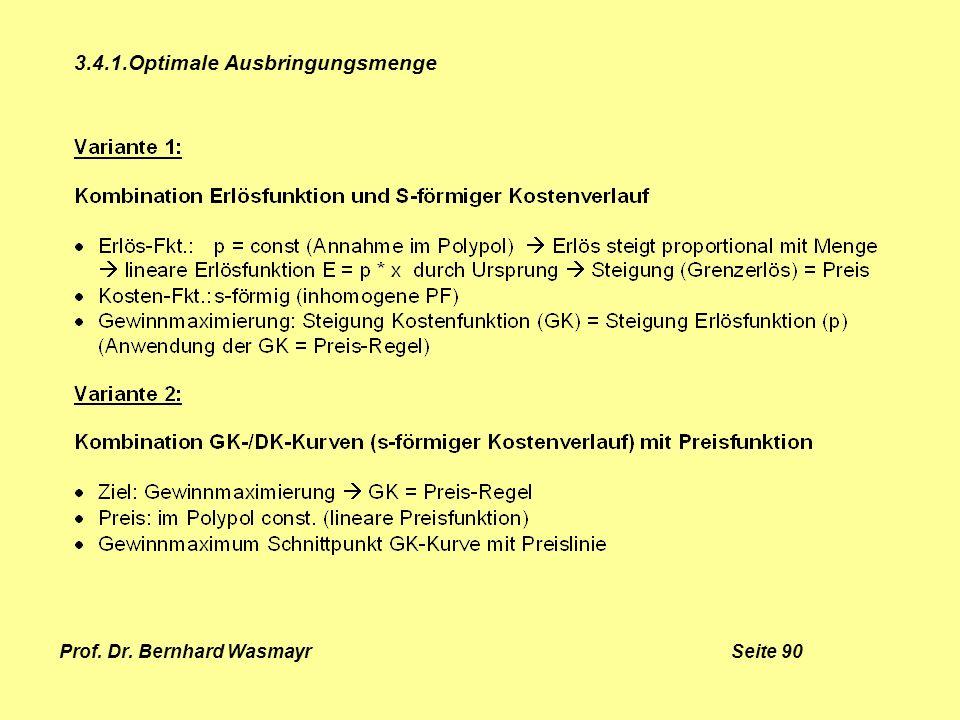 Prof. Dr. Bernhard Wasmayr Seite 90