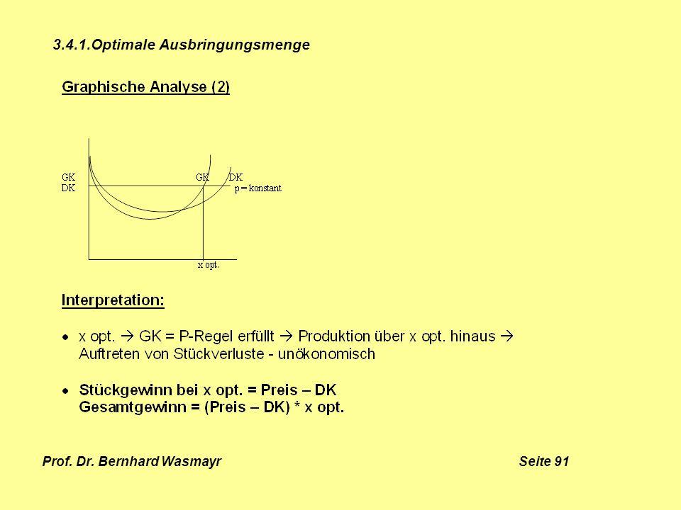 Prof. Dr. Bernhard Wasmayr Seite 91