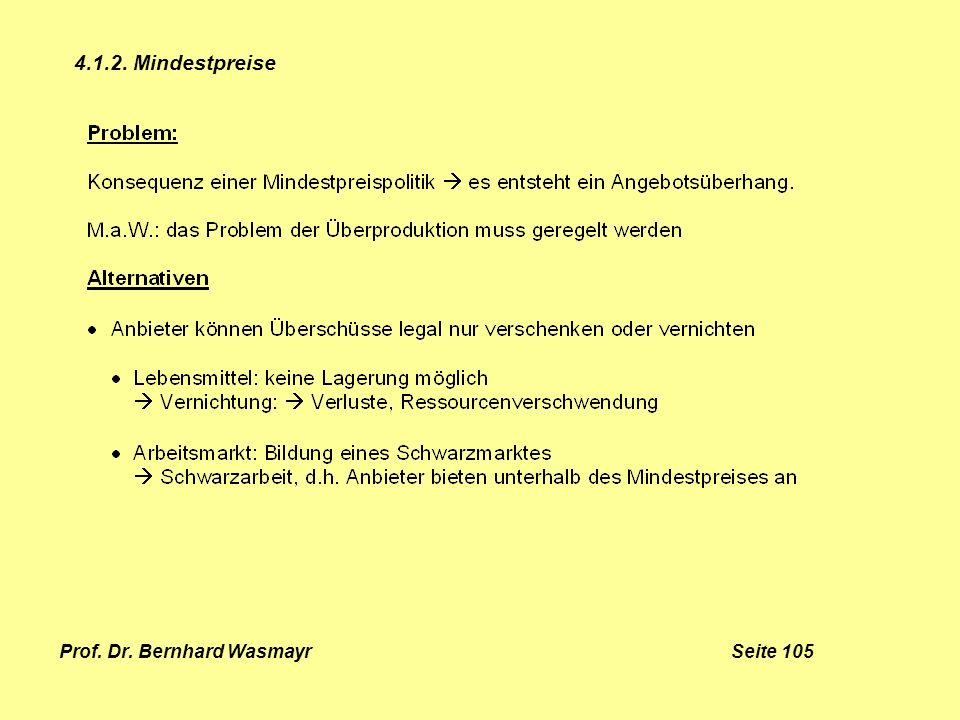 Prof. Dr. Bernhard Wasmayr Seite 105