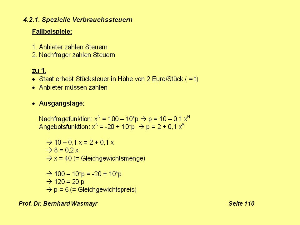 Prof. Dr. Bernhard Wasmayr Seite 110